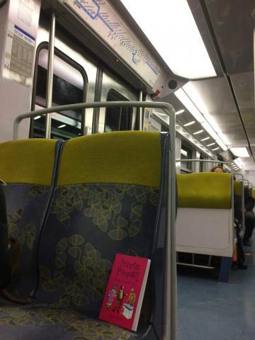 Travelling on the Metro Paris