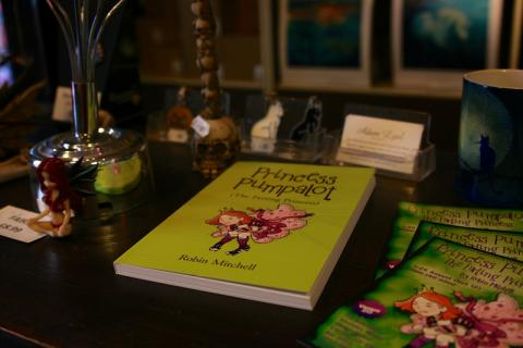 Book on Counter in our shop