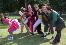 Princess Pumpalot cast photo (copyright 2013 Edinburgh Evening News)