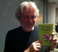 Dean Friedman with Princess Pumpalot book