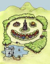 Wiffyville aerial view (happy)
