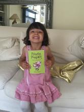 Jasmine with Princess Pumpalot book