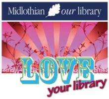 Midlothian Library Love Your Library Logo