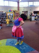 Lindsey Lee Wilson at Mayfield Library