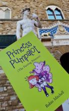 Princess Pumpalot meets Michelangelo's David